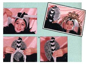 Способы Завязывать Хиджаб С Фото